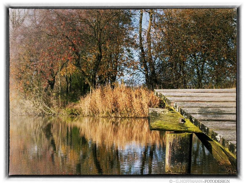 Herbsttag am Angelsee
