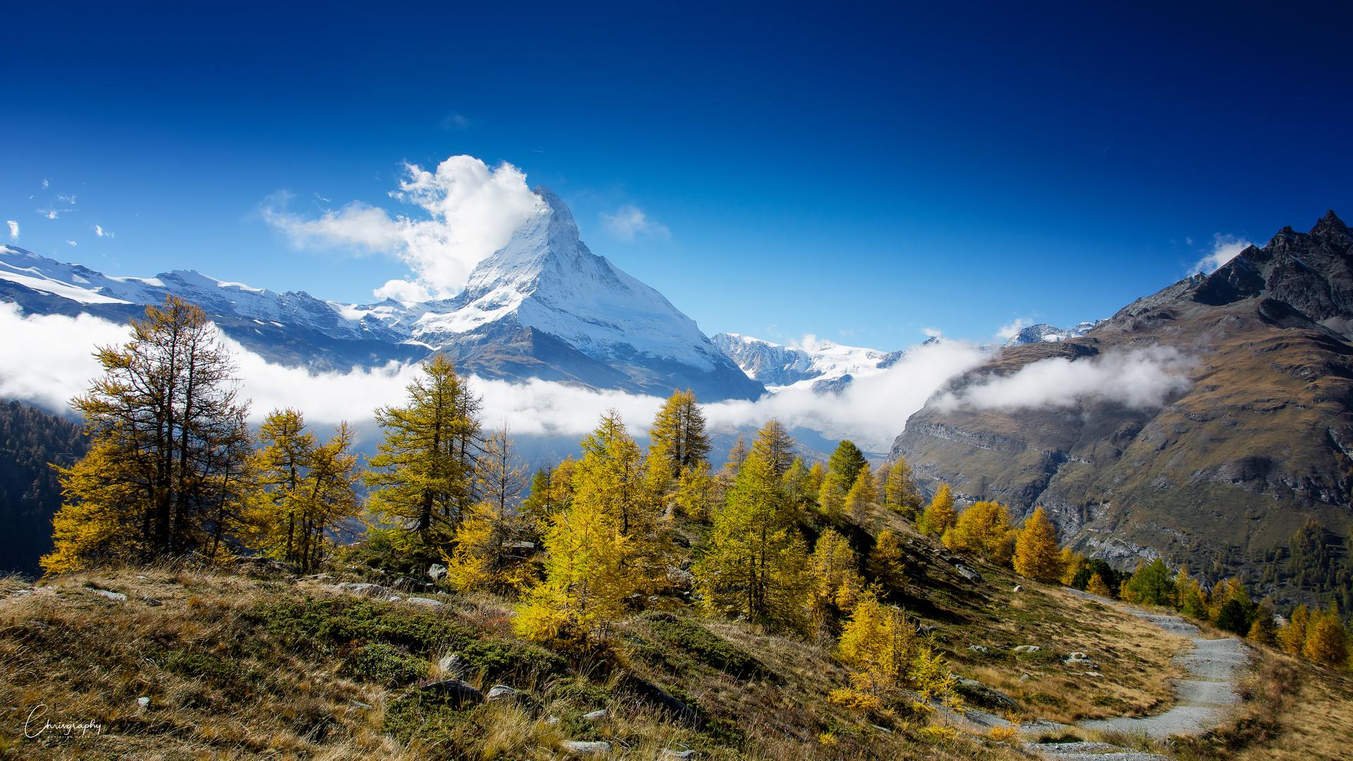 Herbsttag am Matterhorn