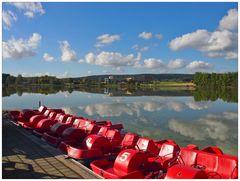 Herbsttag am Weißenstädter See