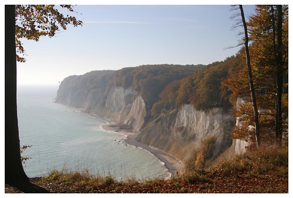 Herbsttag an der Ernst-Moritz-Arndt- Sicht