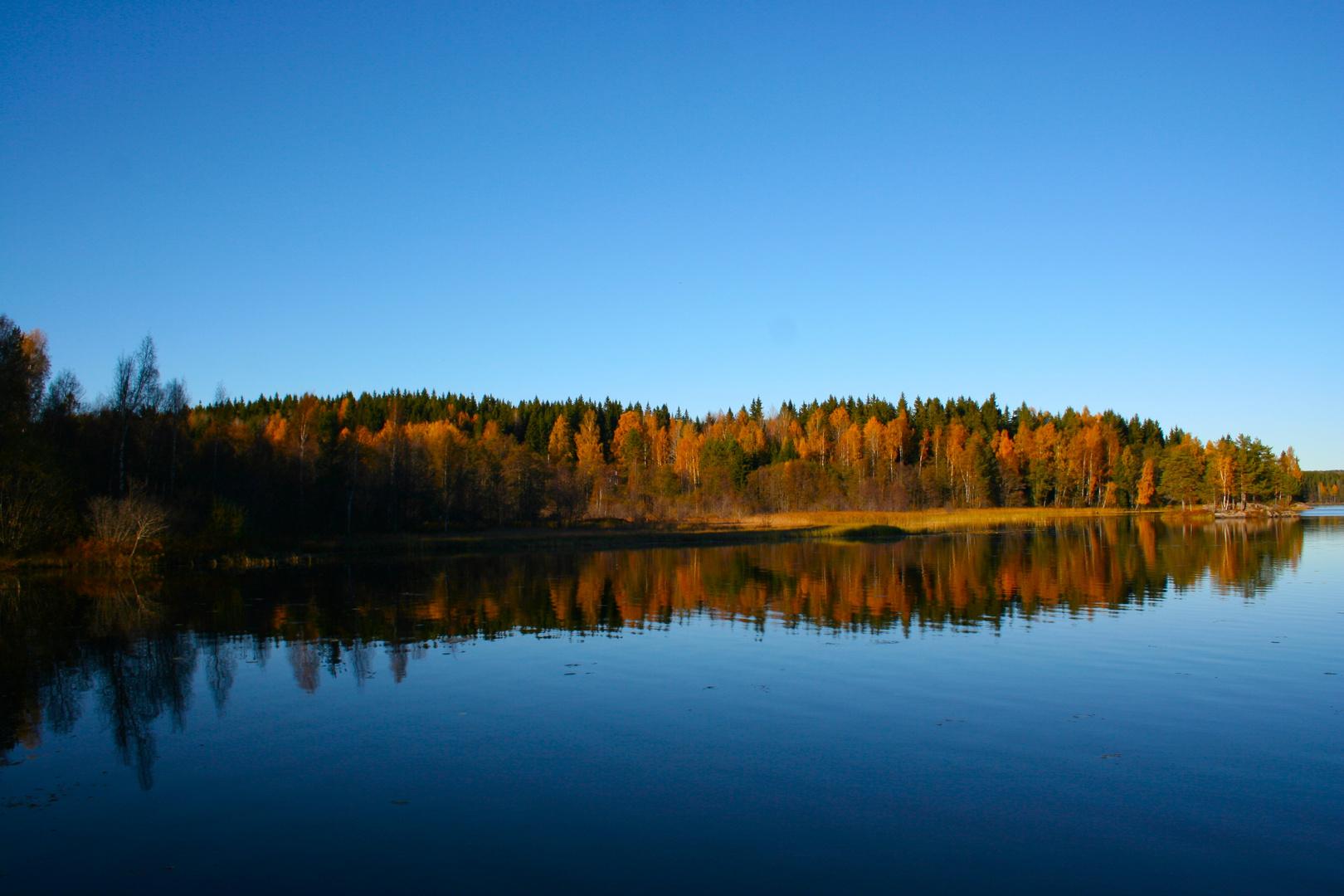 Herbsttag in Schweden