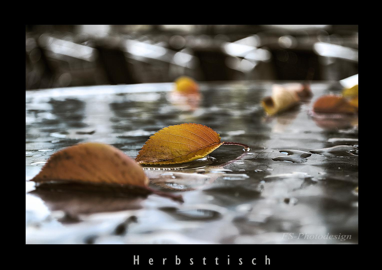 """""""Herbsttisch"""""""