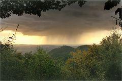 Herbstwetter an Siebengebirge