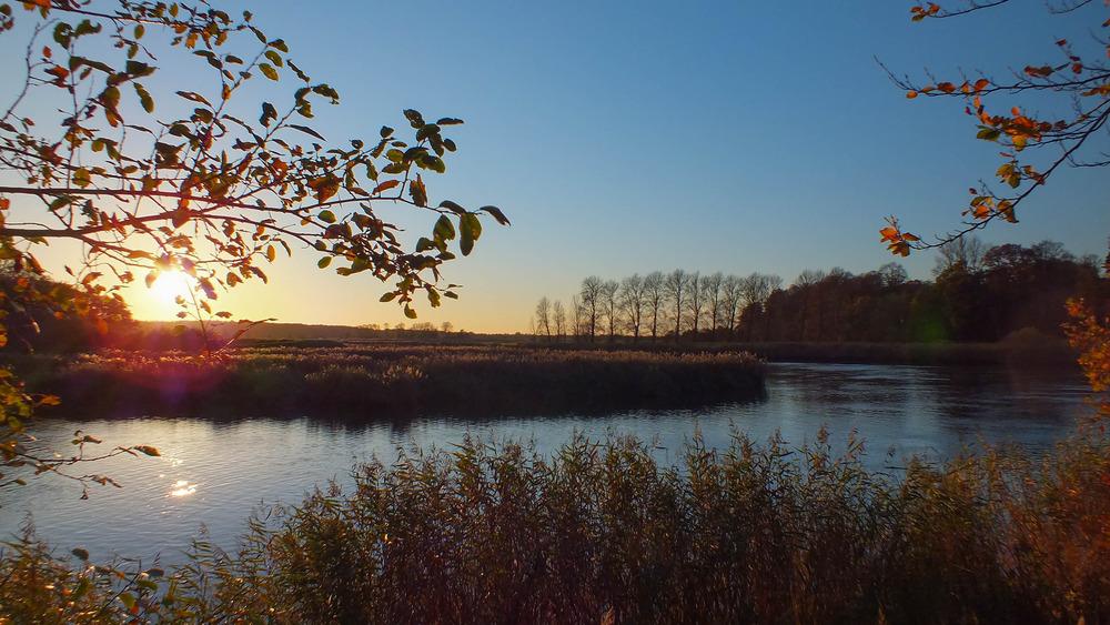 Herbstzeit an der Stör