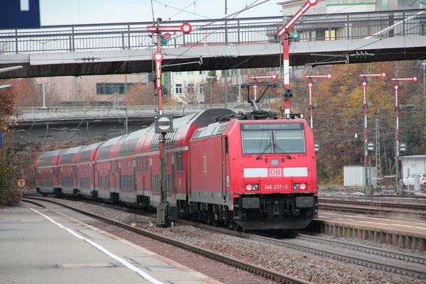 Herbstzeit auf der Schwarzwaldbahn