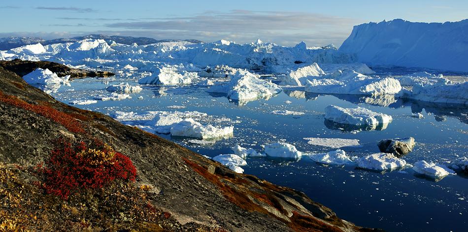 Herbstzeit in Grönland