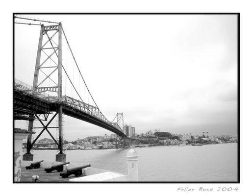 Hercílio Luz Bridge - Florianópolis - South Brazil