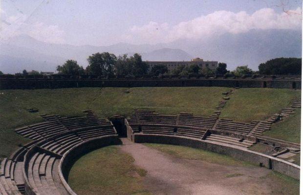 Herculaneum in Pompei