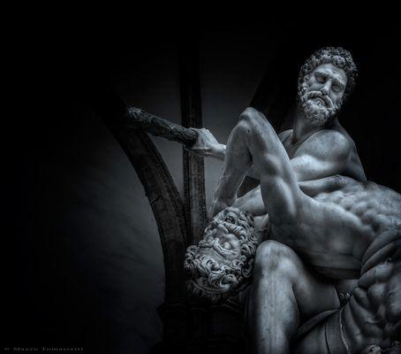 Hercules beating the Centaur Nessus