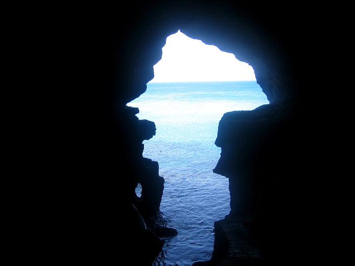 Hercules caves in Tangier