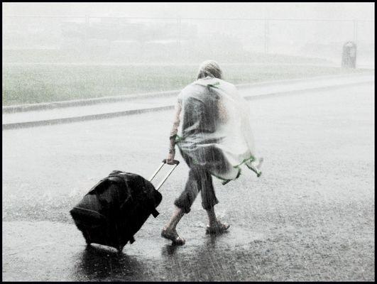 here come the rain again