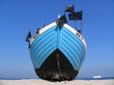 Heringsdorfer Fischerboot