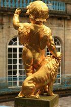 Herkules und sein Löwe