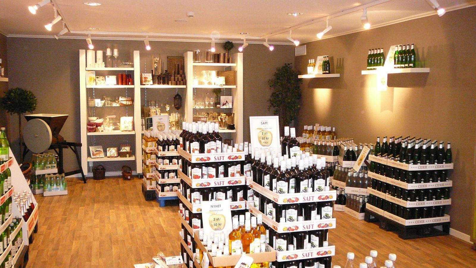 Herljunga cider shop