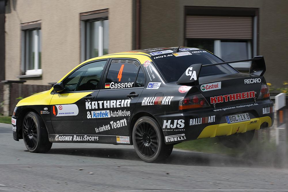 Hermann Gaßner jun. @ Sachsen Rallye 09