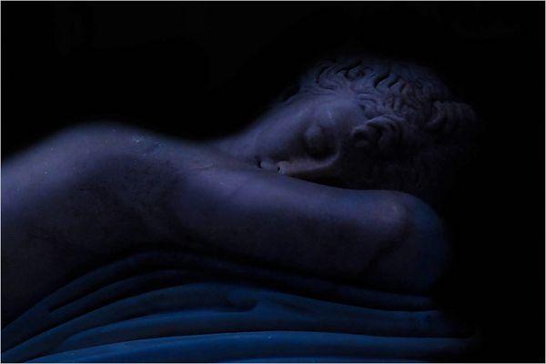 Hermaphrodite endormi.