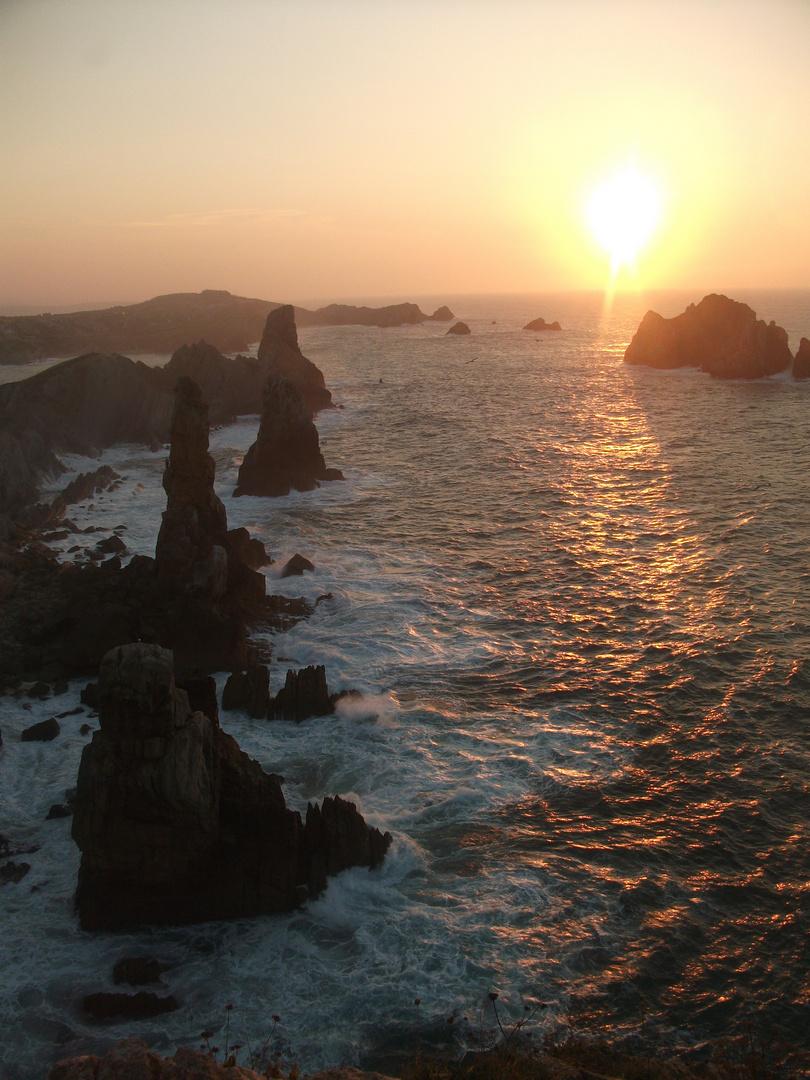 Hermoso mar cantábrico