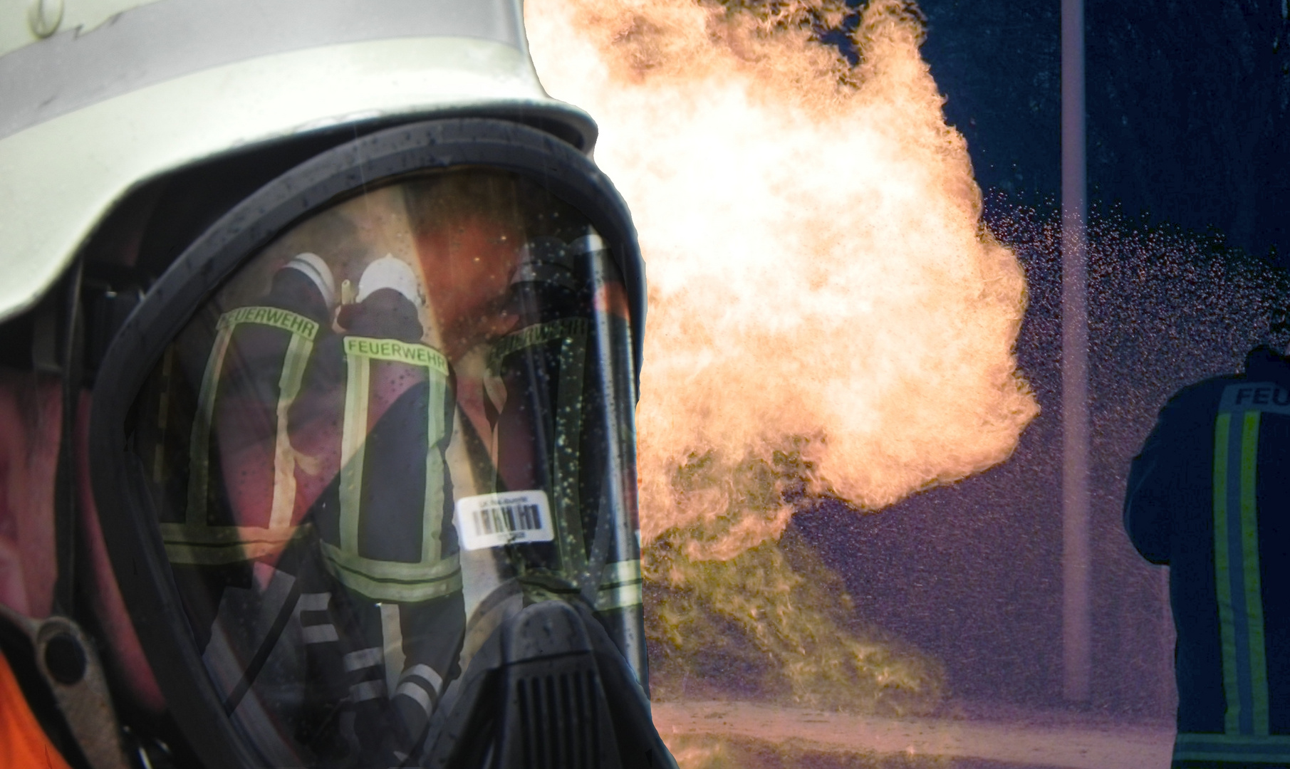 Heroische Brandbekämpfung