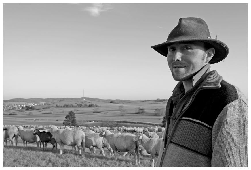 Herr der Schafe :-)