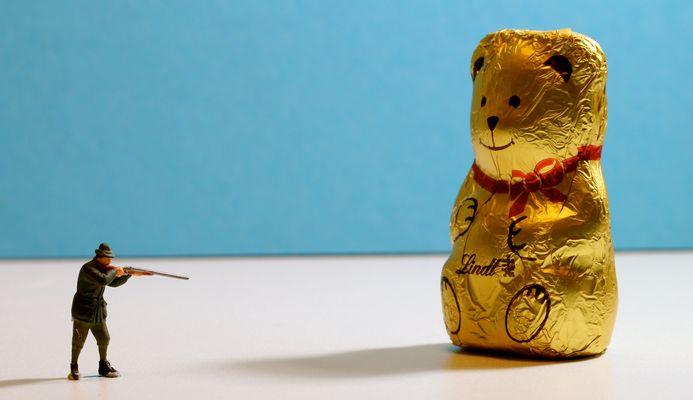 Herr Hari Bo hat den Goldbären erlegt!