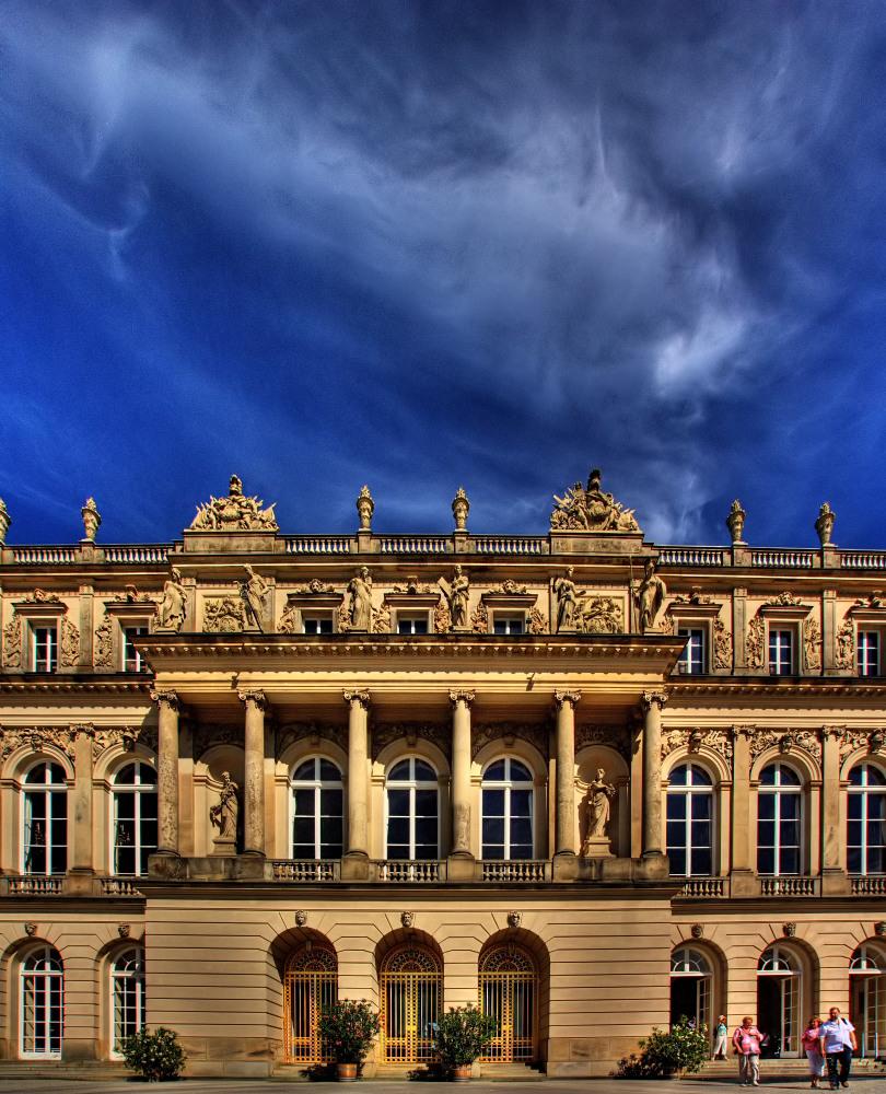 Herrenchiemsee - Eingang Neues Schloss