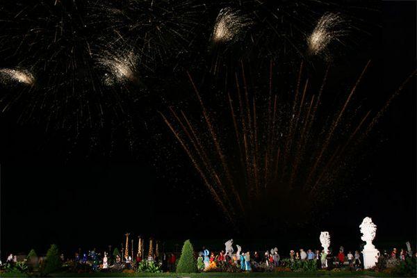 Herrenhäuser Garten - Kleines Fest - Feuerwerk