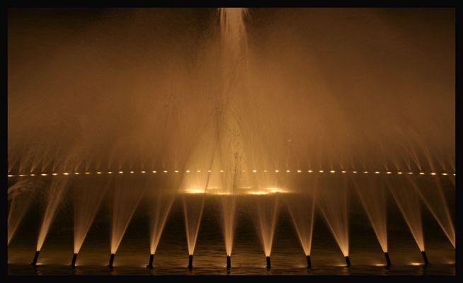 Herrenhäuser Garten - Springbrunnen beleuchtet I