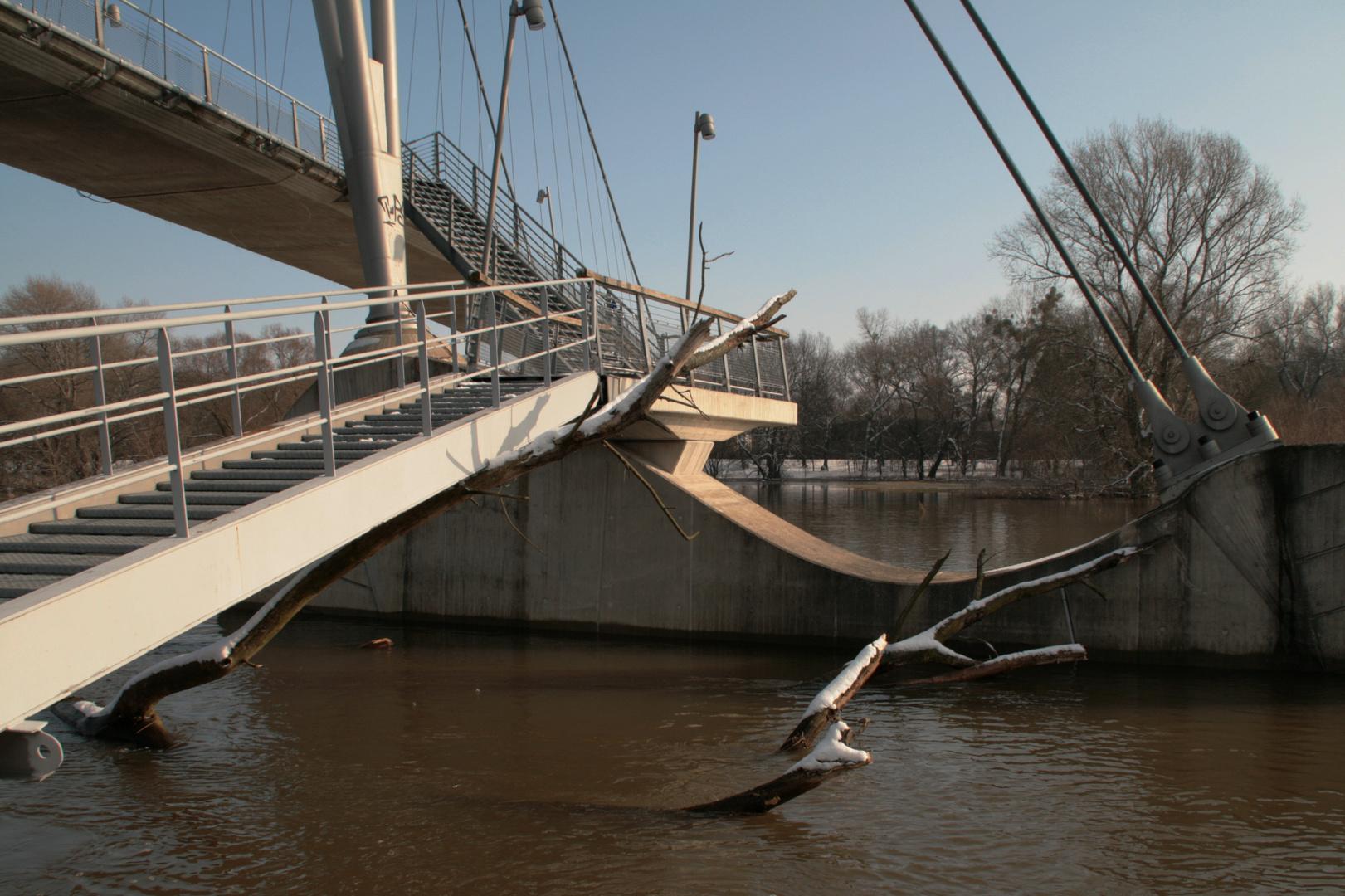 Herrenkrug - Brücke Detail