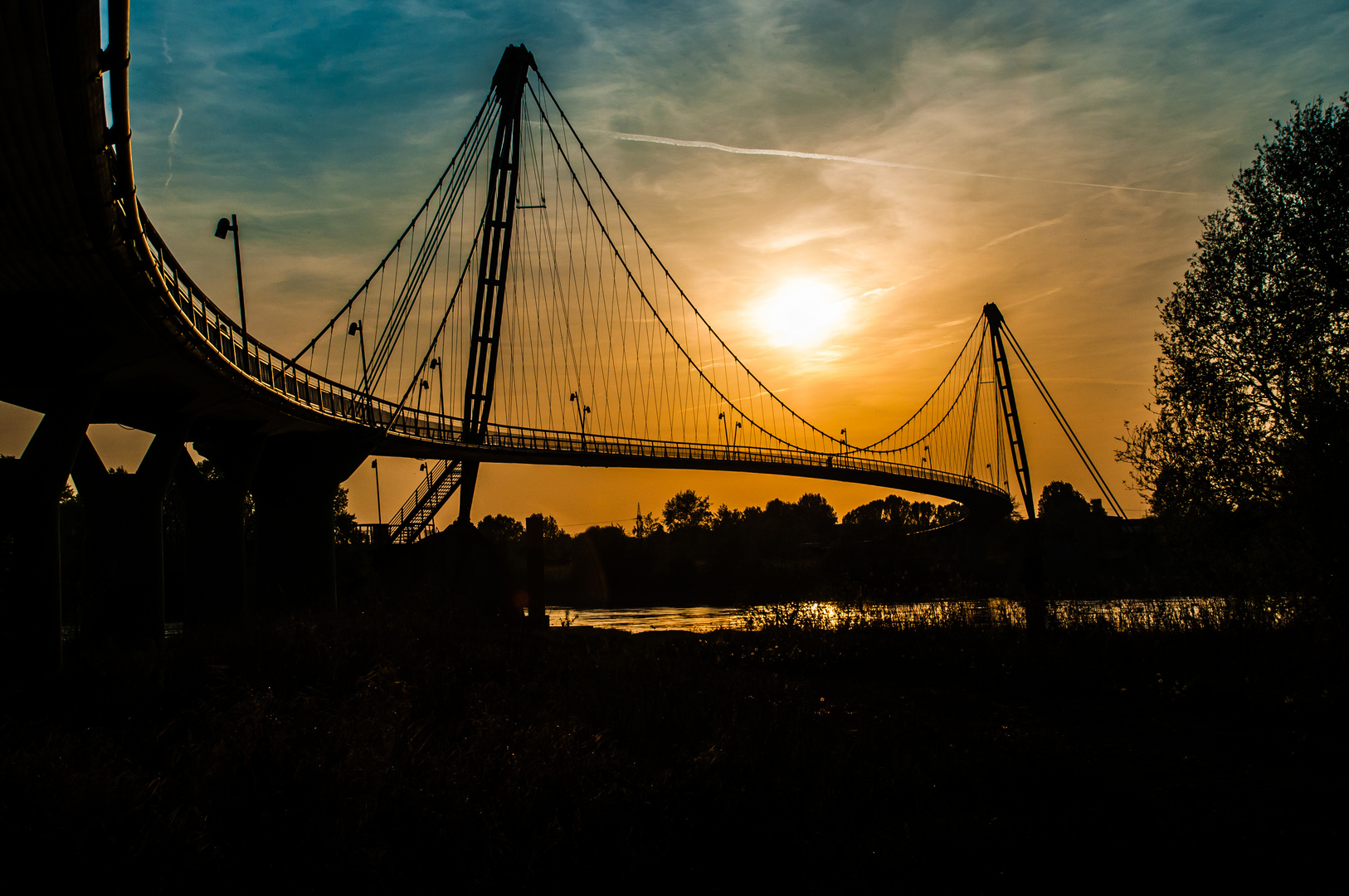 Herrenkrugbrücke in Magdeburg