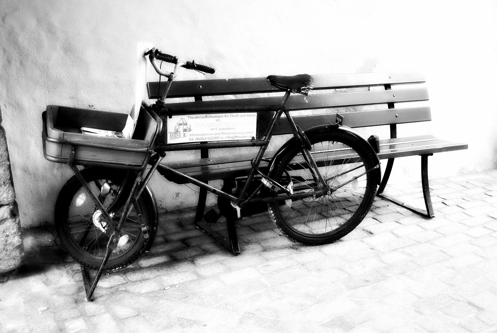 Herrenloses Fahrrad