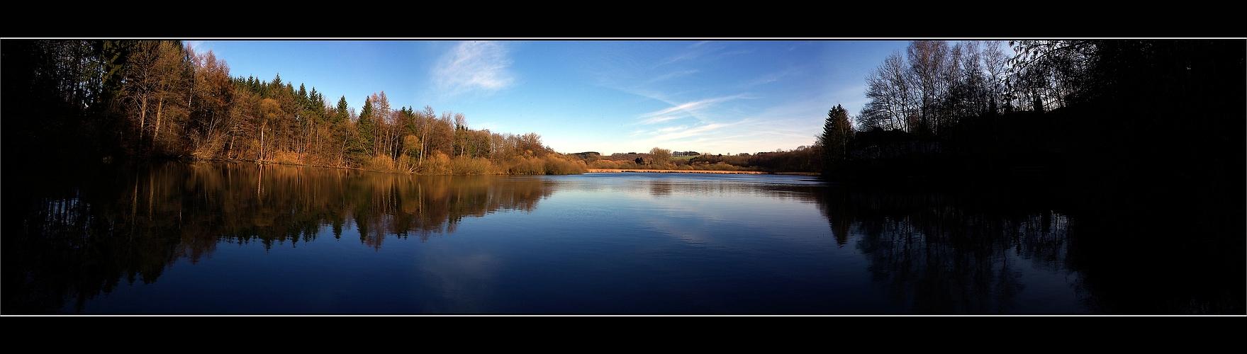Herrensee Panorama im Herbst