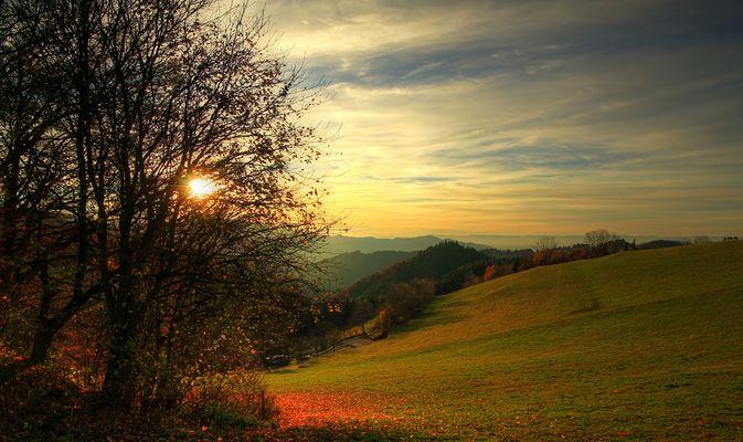 Herrliches Herbstwetter auf der Schwarzwaldhöhe