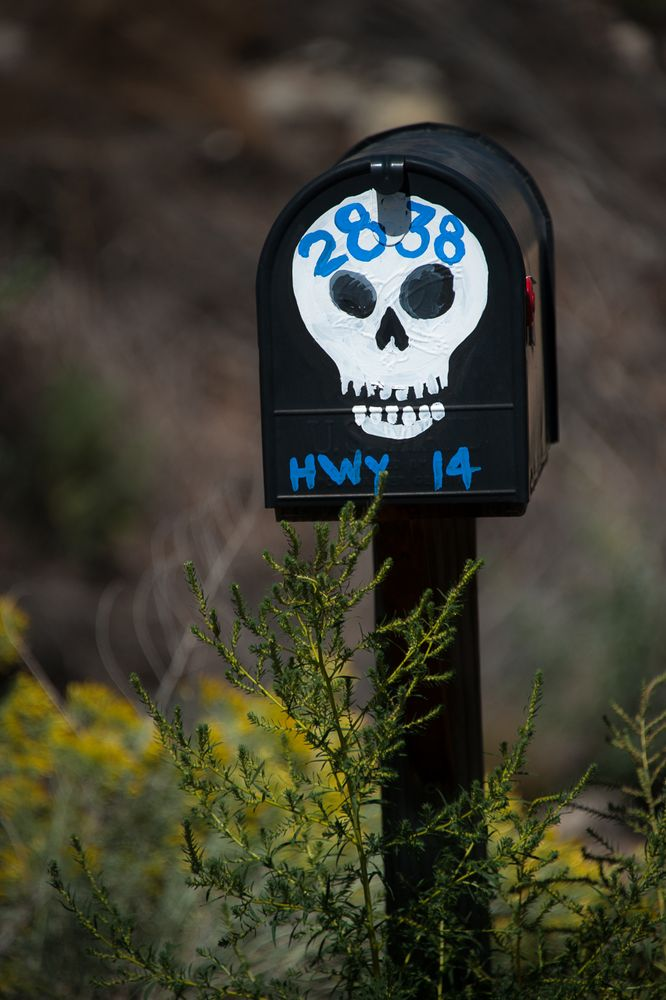 Herrn Sensenmanns Briefkasten