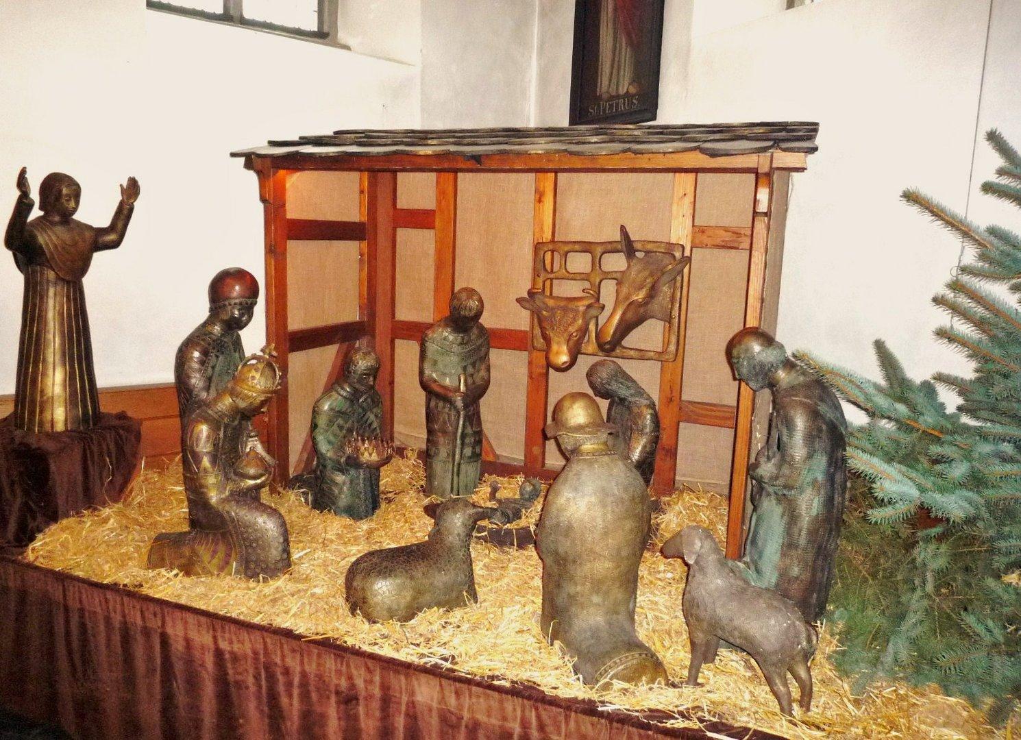 Herscheid, Weihnachtskrippe in der Apostelkirche