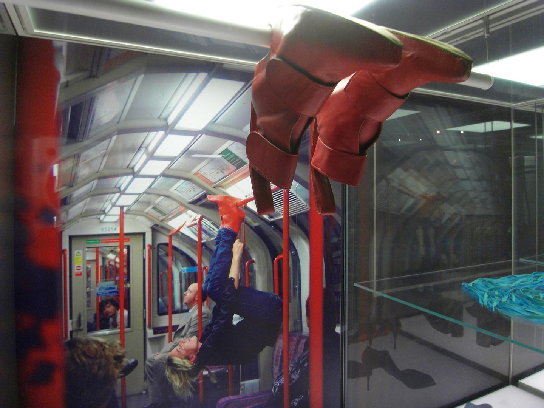 Herumhängen in der U-Bahn / hanging around at the subway