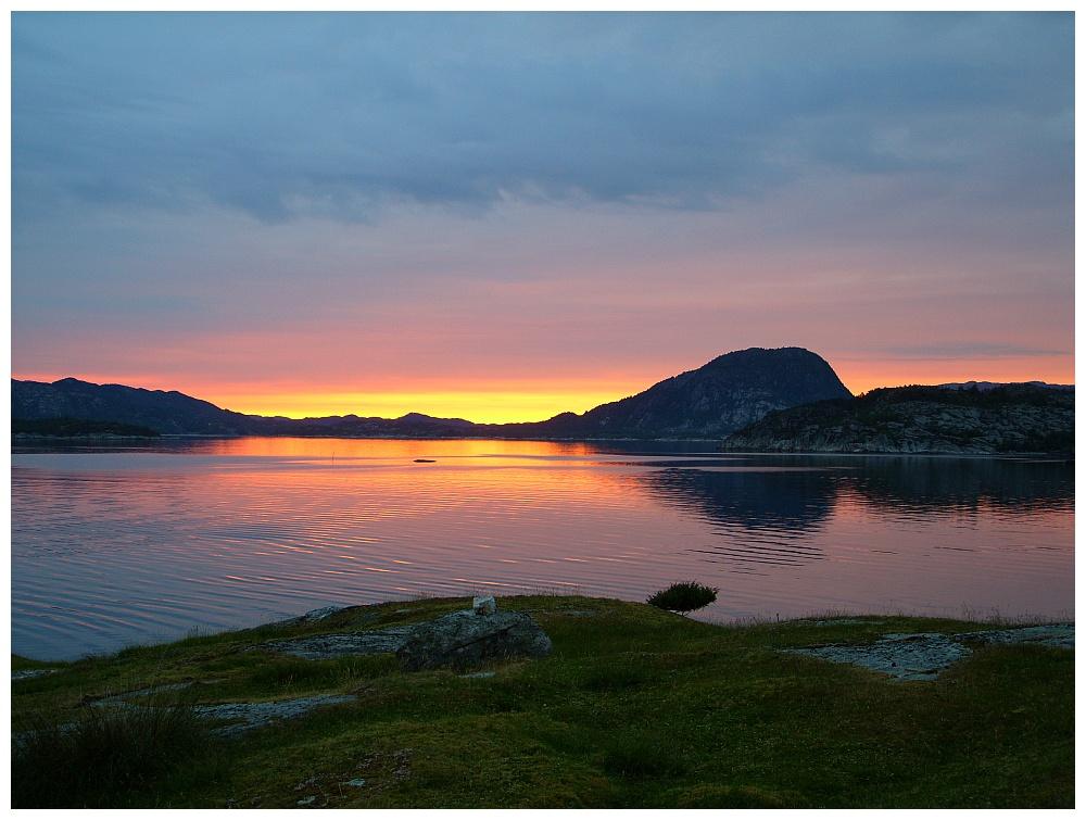 Hervikfjord Sundown