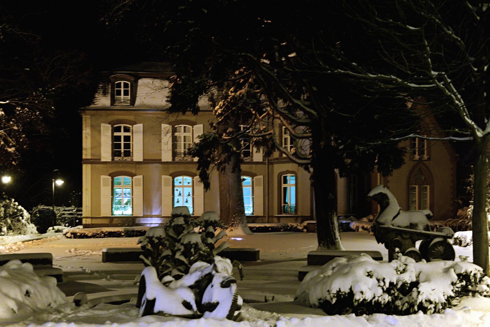 Herxheim im Schnee