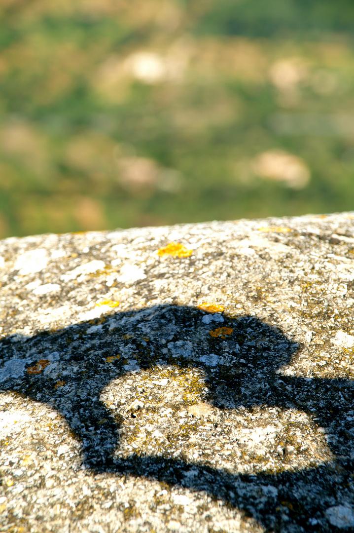 Herz auf Stein