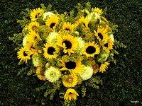 Herz aus Blumen:)