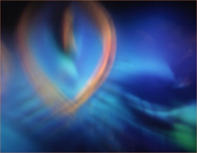 """""""Herz"""" aus der Serie Farb(T)räume: """"eine psychedelische Reise ins Unterbewußtsein"""""""