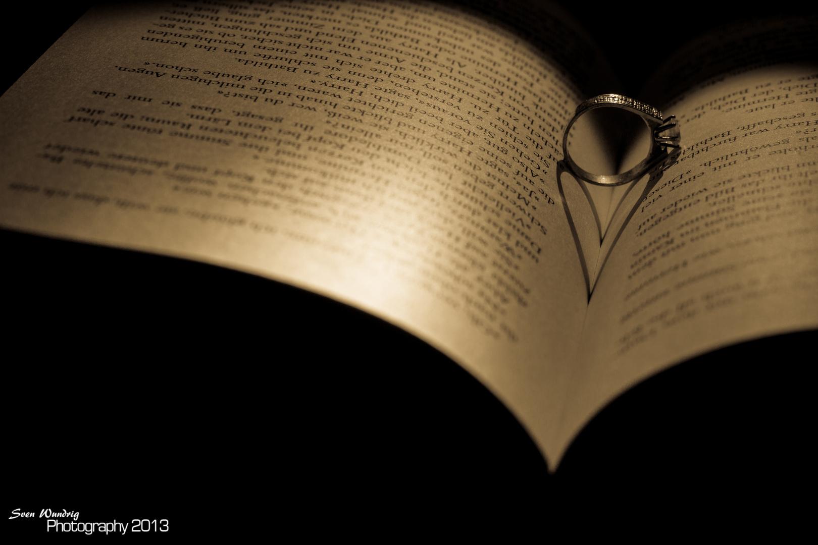 Herz aus einem Ring