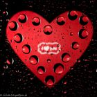 Herz aus Tropfen