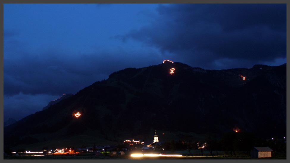 Herz-Jesu-Feuer 2005 (Tannheim)