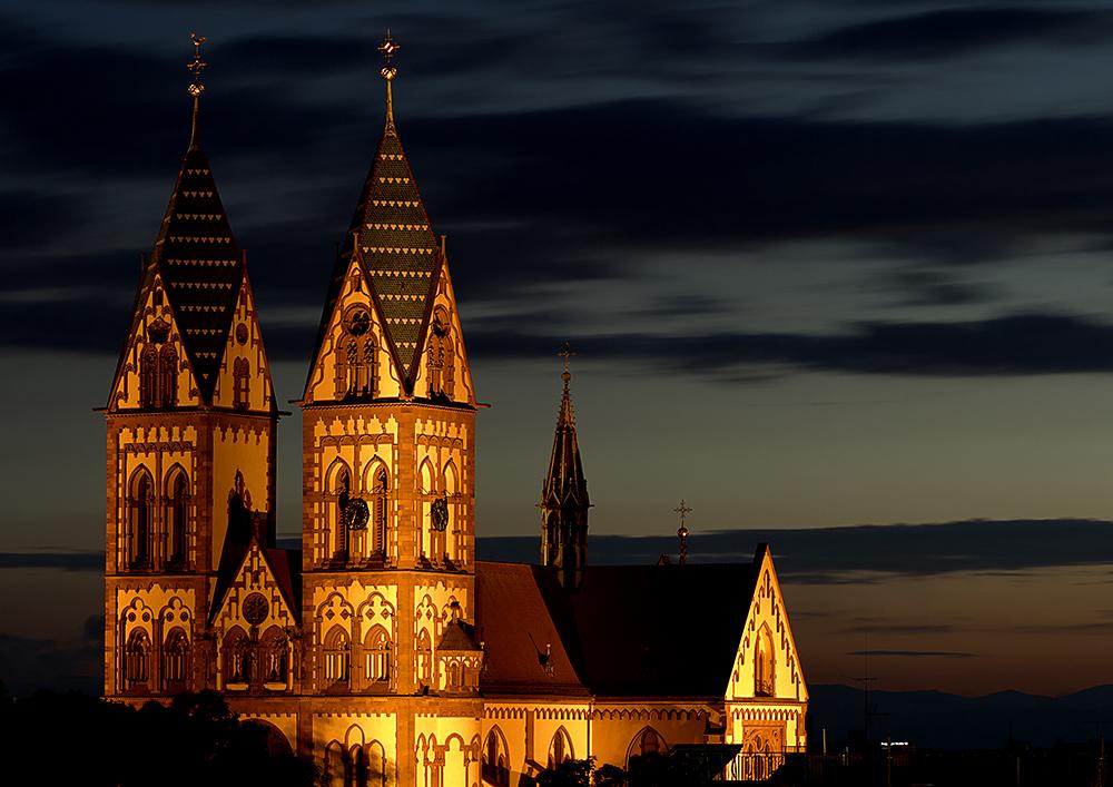 Herz Jesu Kirche Freiburg Im Breisgau Foto Bild