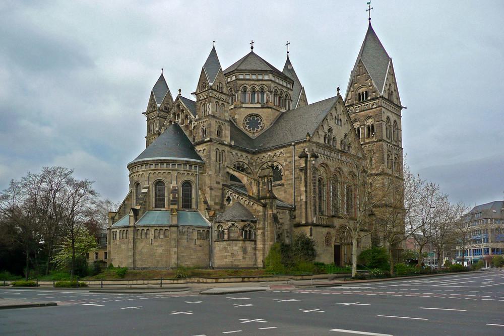 Herz-Jesu-Kirche Koblenz Foto & Bild   architektur