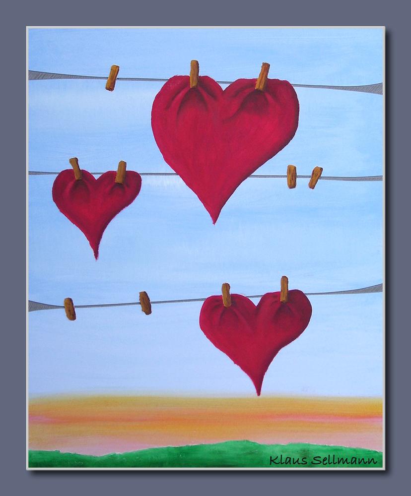 Herzen an der Leine