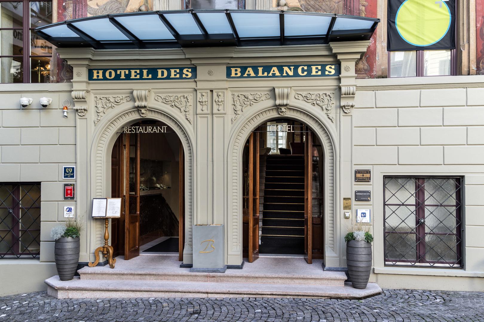 Herzlich willkommen im Hotel des Balances