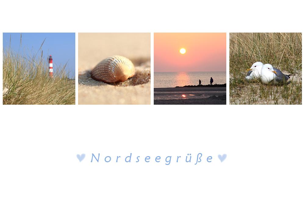 Herzliche Nordseegrüsse
