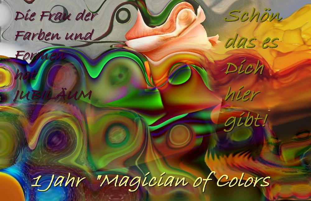 "Herzlichen Glückwunsch Sylvia ""Magician of Colors"""
