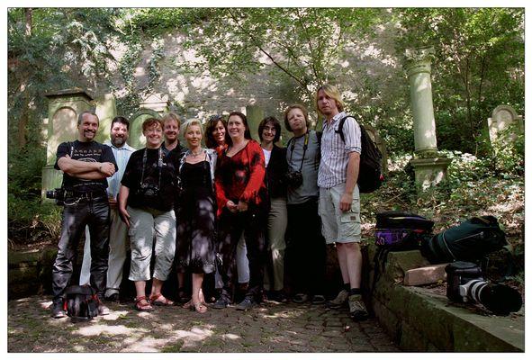 . . . herzliches treffen der dark groups in heidelberg . . .